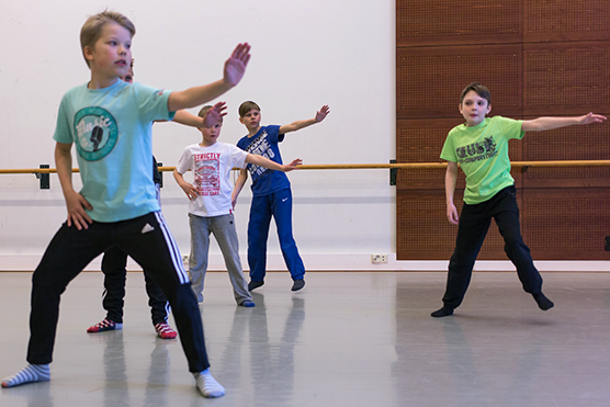 Uusi poikien tanssi 5-7v. alkaa elokuussa